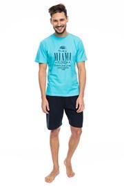 Pánske pyžamo Miami blue