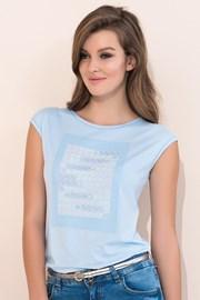 Dámske elegantné tričko Scarlet Blue