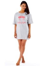 Dámska nočná košeľa Flamingo