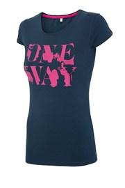 Dámske športové tričko 4f OneWay Navy