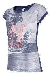 Dámske voľnočasové tričko Ocean
