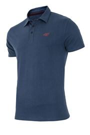Pánske športové tričko s golierom 4f