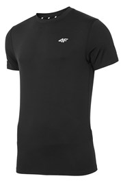 Pánske fitness tričko Black