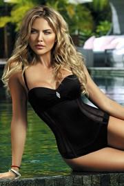 Dámske jednodielne plavky Fashion Black