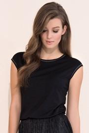 Dámske elegantné tričko Vivian Black