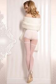 Luxusné samodržiace nohavice Wedding 376