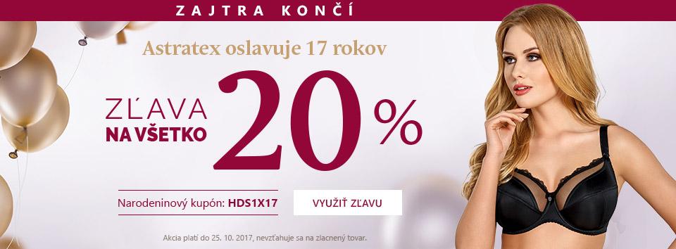 Narozeniny -20 %.