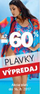 Výpredaj plavek až -60 %.