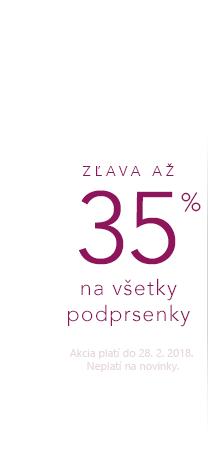 Podprsenky až -35 %.