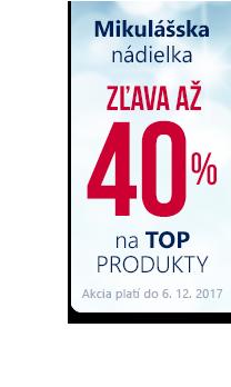 Top produkty až -40 %
