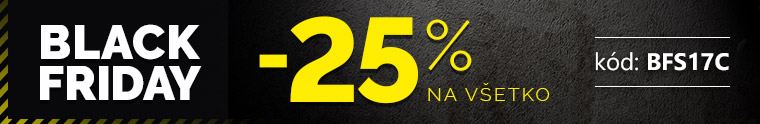 Black friday -25 %