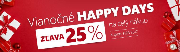 Zľava 25 % na celý nákup