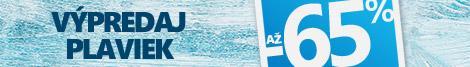 Plavky až -65 %