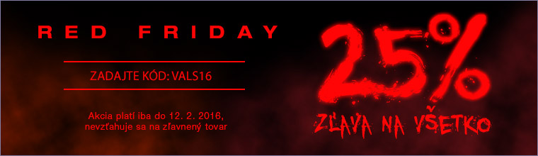 Red Friday -25 %
