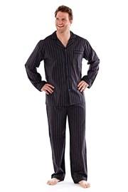 Pánske pyžamo Harvey Black Stripe Long