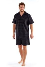 Pánske pyžamo Harvey Black Check
