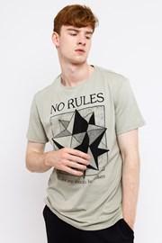 Pánske tričko MF No Rules Beige