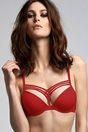 Podprsenka Marlies Dekkers Red Push-Up