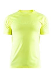 Tričko CRAFT Run Prime neónovo žlté