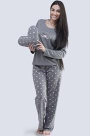 Dámske pyžamo Meow sivé