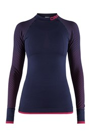 Dámske tričko CRAFT Warm Intensity modro-ružové