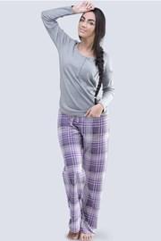 Dámske pyžamo Anabell sivé