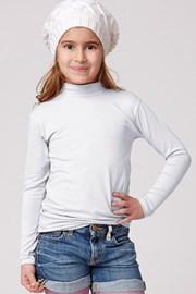 Detské bavlnené tričko so stojačikom Jadea