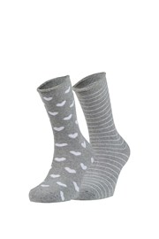 2 pack hrejivých ponožiek Tina