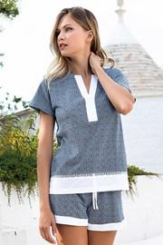 Dámske pyžamo Creta krátke