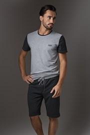 Pánske pyžamo LISCA Thor Dark Grey Short