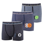3 pack chlapčenských boxeriek ENRICO COVERI EB4074