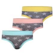 3pack detských, dievčenských nohavičiek Stars
