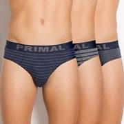 3pack pánskych slipov PRIMAL S157