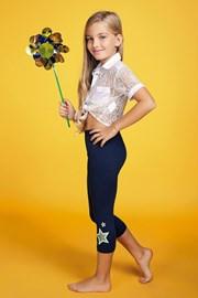Dievčenské legíny Stella Glitter