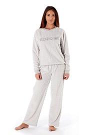 Dámske pyžamo Weekend Girl Grey