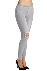 Dámske legíny Carlita v džínsovom dizajne