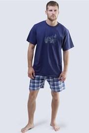 Pánske pyžamo Harley modré