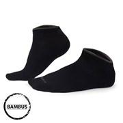 Bambusové ponožky Eloi nízké čierne