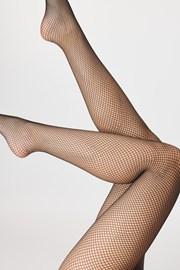 Sieťované pančuchové nohavice Brigitte 01
