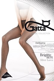 Sieťované pančuchové nohavice Brigitte 02