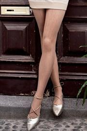 Vzorované pančuchové nohavice Brigitte 12