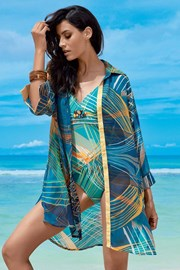 Dámske letné košeľové šaty Claudia