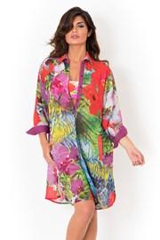 Dámske talianske plážové košeľové šaty David Mare, Playa