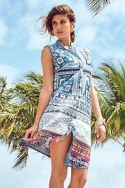 Dámske talianske košeľové šaty David Beachwear Gujarat