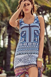 Dámske talianské letné šaty David Beachwear Gujarat