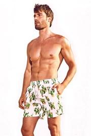 Pánske plavkové šortky DAVID 52 Cactus