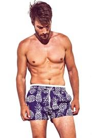 Pánske plavkové šortky DAVID 52 Pineapple Atlantis