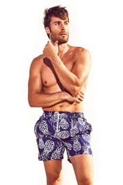Pánske plavkové šortky DAVID52 Pineapple Caicco
