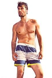 Pánske plavkové šortky DAVID 52 Ocean Stripes Caicco