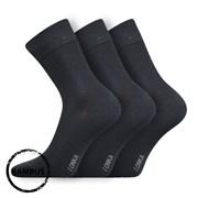 3 pack bambusových ponožiek Debob tmavosivé